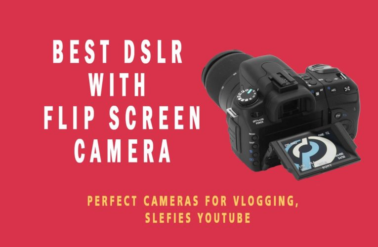 Touch Screen DSLR Canon Camera