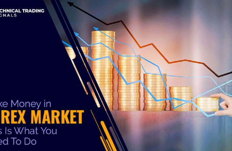 Make Money in Forex Market: This Is What You Need To Do