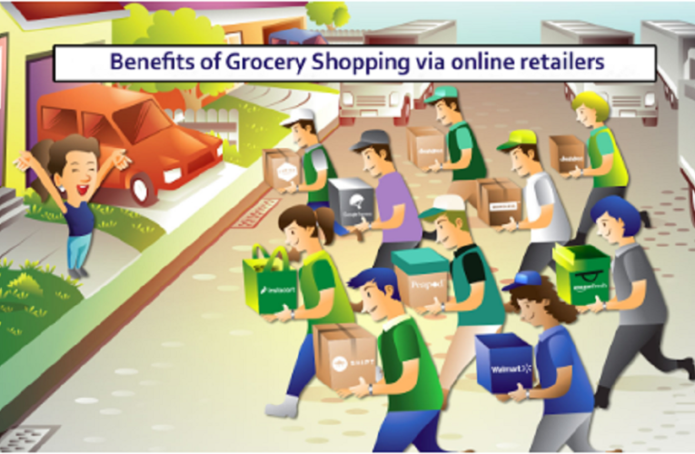 What Are the Benefits of Grocery Shopping via Online Retailers