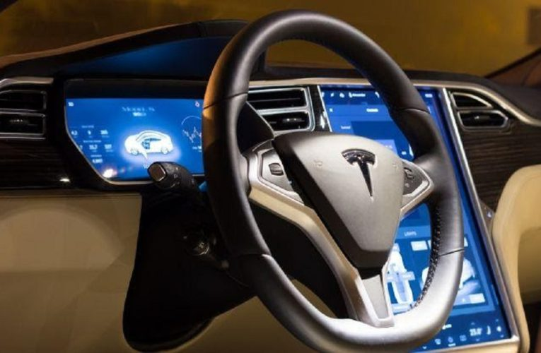 Tesla Car Without Driver