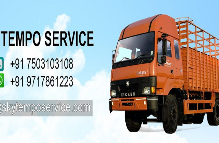 Tempo Service in Delhi You Can Bet On