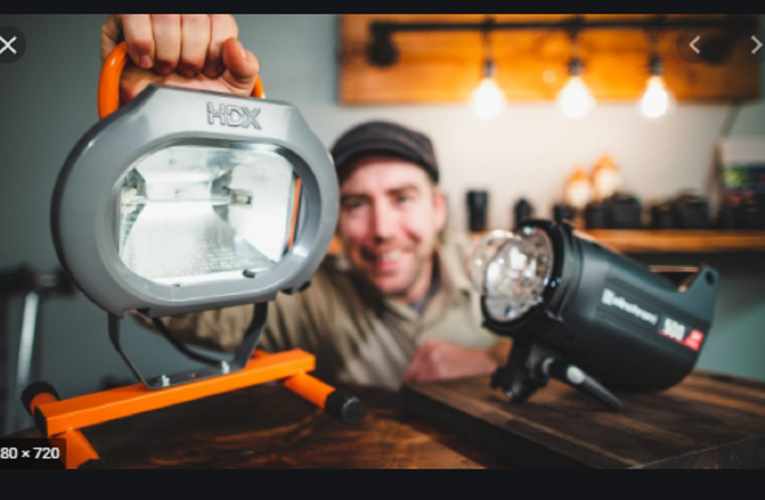 Best Portable Light for Photography
